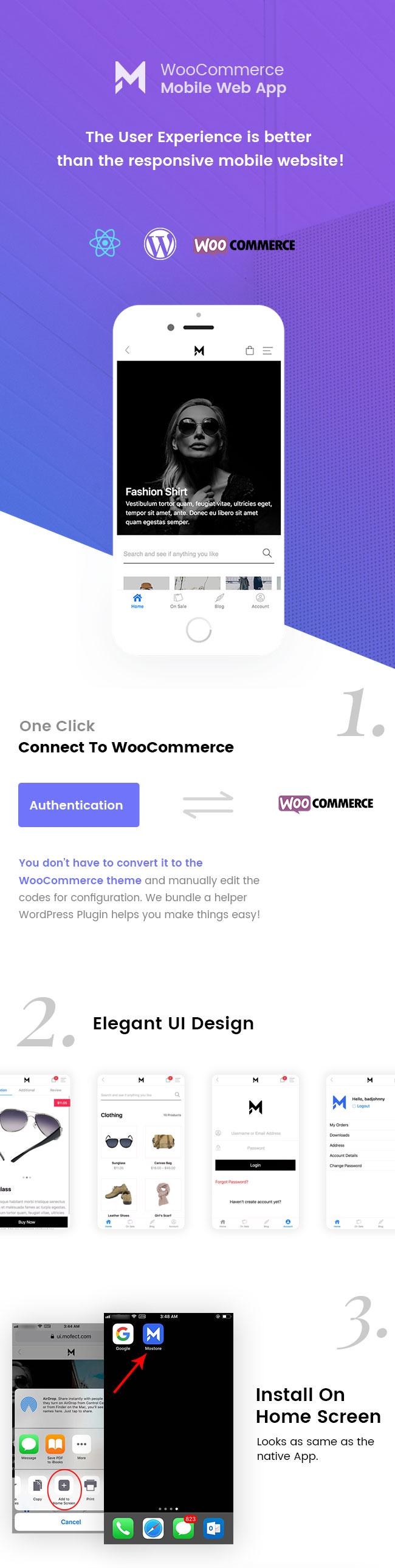 Mostore - WooCommerce Mobile Progressive Web App - 2
