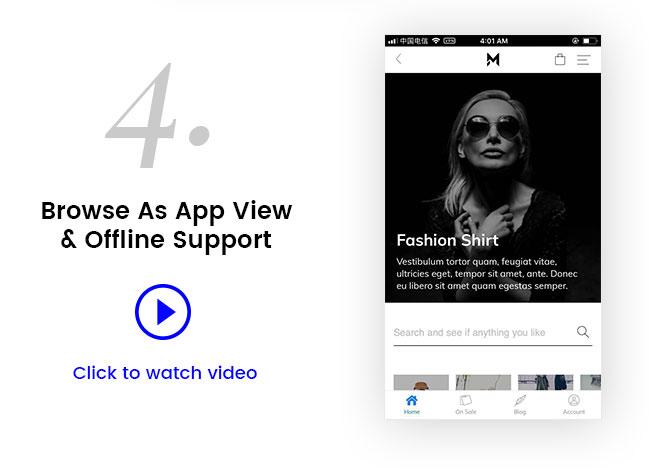 Mostore - WooCommerce Mobile Progressive Web App - 3
